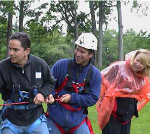 Ropes course team building in toronto, mississauga, canada, usa.