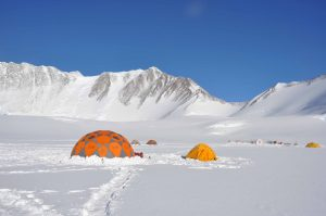 Team Building camp on Mount Vinson
